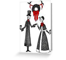 Holiday Romance Greeting Card