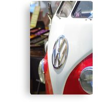 Du ist ein Volkswagen Canvas Print