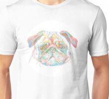 rainbow pug Unisex T-Shirt