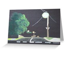 End of the Street Greeting Card