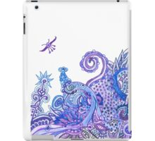 Purple and Blue Imaginary Jungle iPad Case/Skin