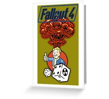 Fallout 4 - PipBoy's Luck Greeting Card