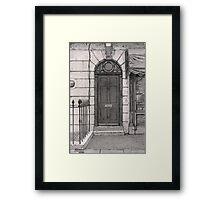 221b Framed Print