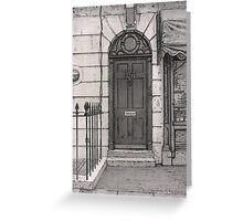 221b Greeting Card