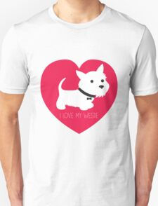I Love My Westie T-Shirt