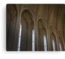 Iceland National Cathedral Canvas Print