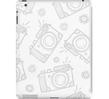 Retro photo cameras iPad Case/Skin