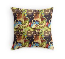 Dragons! Throw Pillow