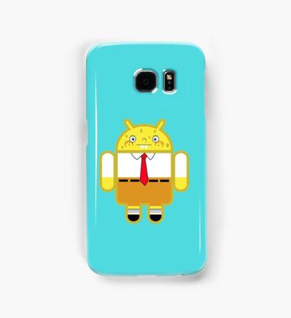 Droidarmy: Spongedroid Squarepants Samsung Galaxy Case/Skin