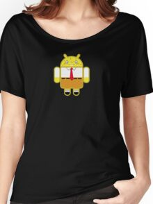 Droidarmy: Spongedroid Squarepants Women's Relaxed Fit T-Shirt