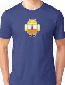 Droidarmy: Spongedroid Squarepants Unisex T-Shirt