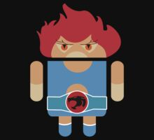 Droidarmy: Thunderdroid Lion-o no text Baby Tee