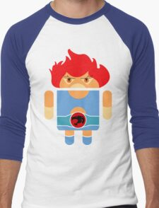 Droidarmy: Thunderdroid Lion-o no text Men's Baseball ¾ T-Shirt