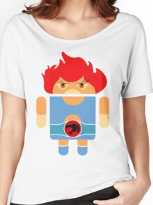 Droidarmy: Thunderdroid Lion-o no text Women's Relaxed Fit T-Shirt