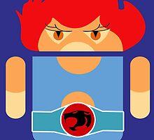 Droidarmy: Thunderdroid Lion-o no text by Nana Leonti