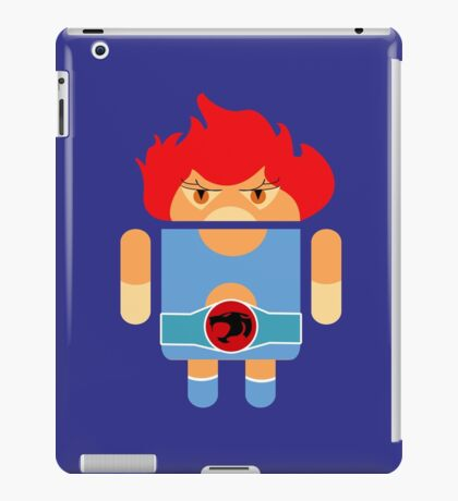 Droidarmy: Thunderdroid Lion-o no text iPad Case/Skin