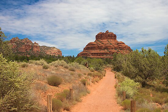 Path to Bell Rock by njordphoto