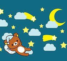 Starry Night ~ Rilakkuma  by bandreaNRG
