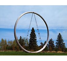 Tree In The Circle Photographic Print