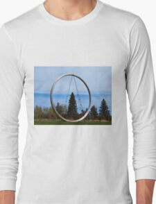 Tree In The Circle Long Sleeve T-Shirt