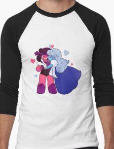 Ruby and Saphire Men's Baseball ¾ T-Shirt