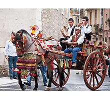 Marriage Procession Photographic Print