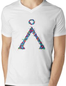 Stargate Symbol Mens V-Neck T-Shirt