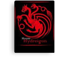 House Hydreigon Canvas Print