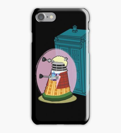 Daleks in Disguise - Sixth Doctor iPhone Case/Skin