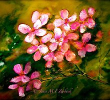 Pink Geranium by ©Janis Zroback