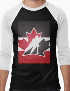 Team Canada Men's Baseball ¾ T-Shirt