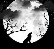 Bark at the Moon by shutterbug2010
