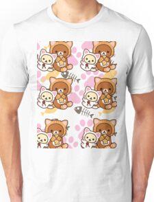 Kitty Paws ~ Rilakkuma & Korilakkuma Unisex T-Shirt