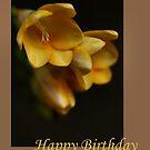 Happy Birthday by Joy Watson