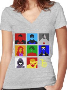 Titans GO!! Women's Fitted V-Neck T-Shirt