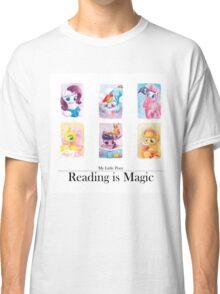Reading is magic Classic T-Shirt