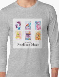 Reading is magic Long Sleeve T-Shirt
