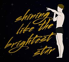 Shining Like The Brightest Star by byebyesally