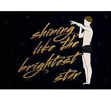 Shining Like The Brightest Star Photographic Print