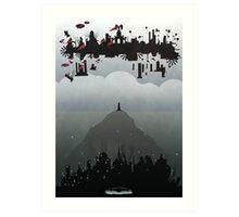 Bioshock- 2 worlds Art Print