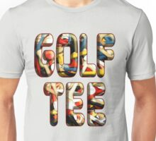 Golf Tee v1 Unisex T-Shirt