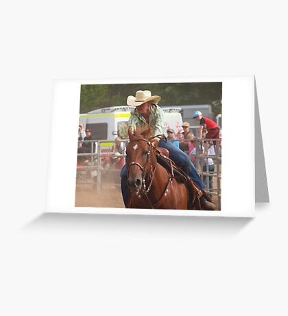 Tag Chaser Greeting Card