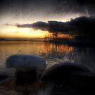 Wharf at Dawn by Ant Vaughan