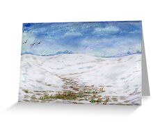 Spring is near Greeting Card