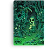 Deep Dark Woods Canvas Print