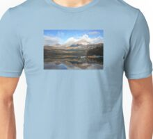 Pyramid Mountain and Lake Unisex T-Shirt