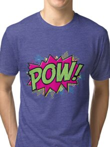 Pow! Cartoon Tri-blend T-Shirt