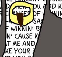 Scott Steiner Mania Sticker