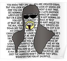 Scott Steiner Mania Poster