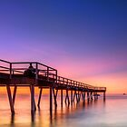 Watching the Sunset - Hervey Bay Qld Australia by Beth  Wode